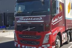 Scotland Volvo FH Truck