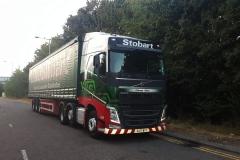 Eddie Stobart Ethnee Alice Volvo FH with Stobarts trailer