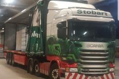 Eddie-Stobart-Scania-R450-Curtainsider-in-Warehouse