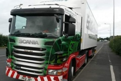 Eddie Stobart Tracey Jane Scania 400 with matching trailer