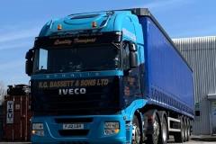 R.G.-Bassett-Sons-Ltd-Iveco-truck-with-curtainsider-trailer