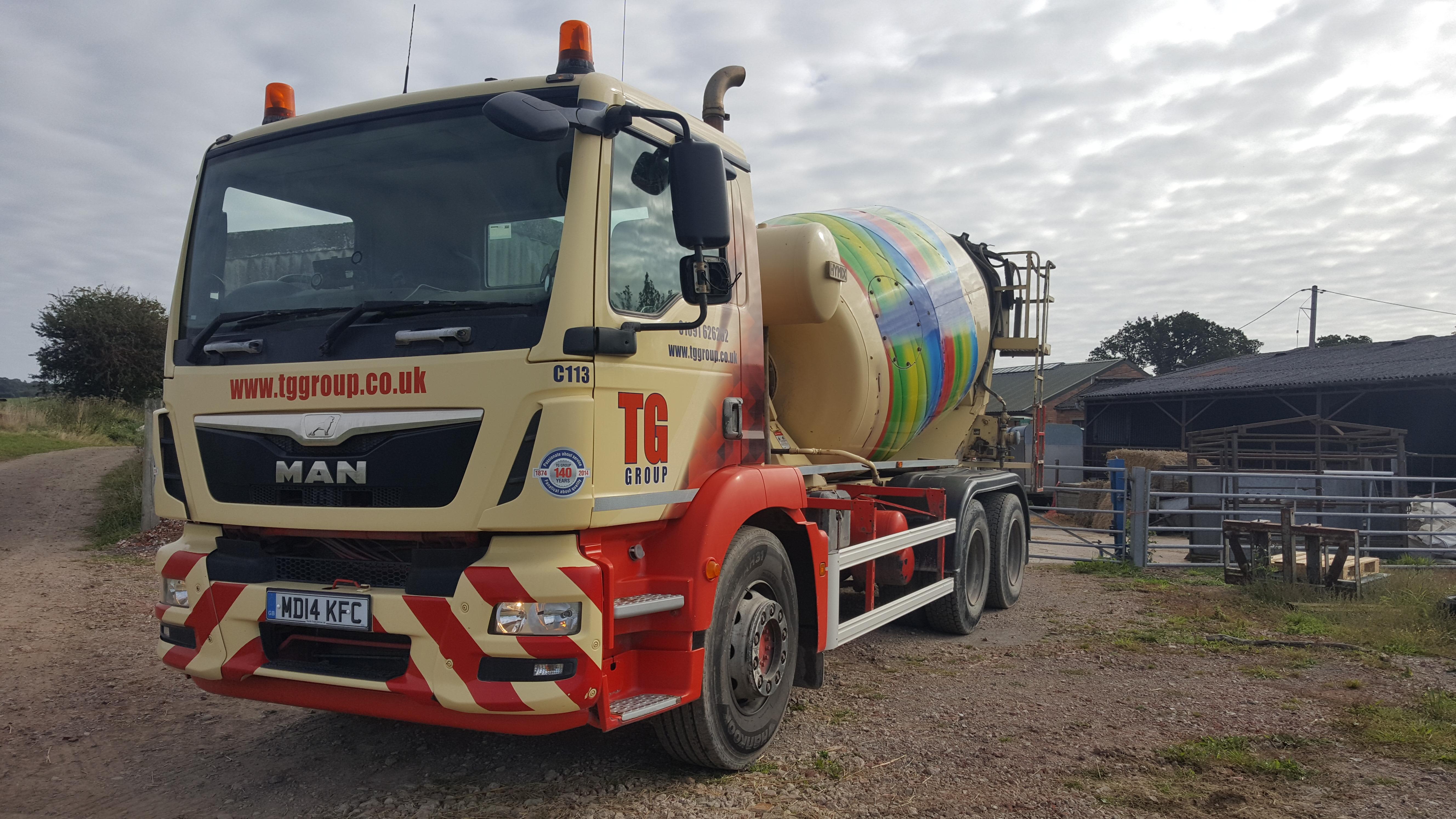 Tudor Griffiths Group MAN Concrete Mixer Truck