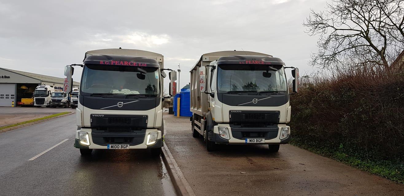 B.G Pearce Ltd Volvo FL Trucks