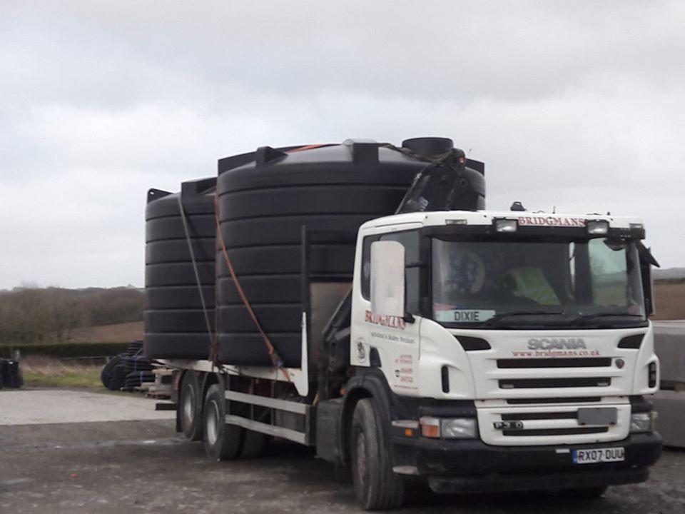 Bridgemans Scania Rigid Flatbed loaded