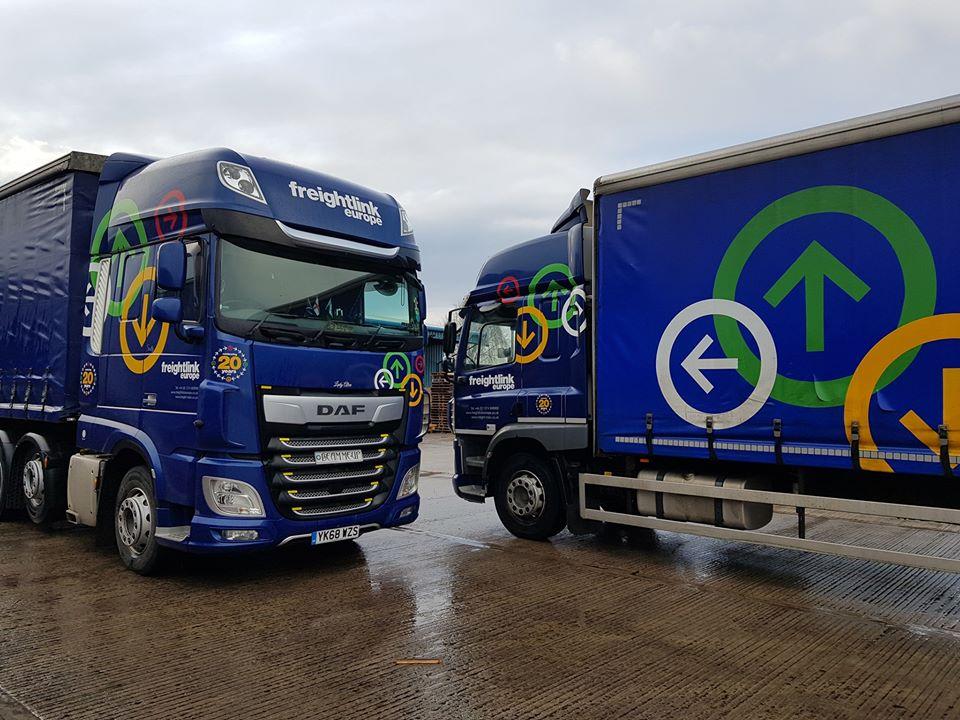 Freightlink DAF Truck