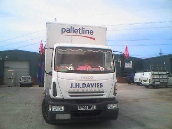 J H Davies Iveco Euro Cargo Truck