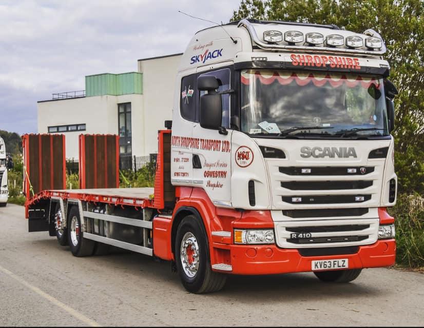 North Shropshire Transport Ltd Scania R410
