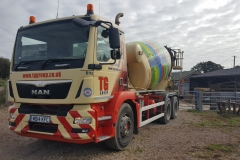 Tudor Griffiths Group MAN Concrete Mixer Truck