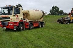 Tudor Griffiths Group 8 wheel DAF Concrete Mixer Truck