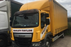 Bailey Taylor DAF curtainsider truck