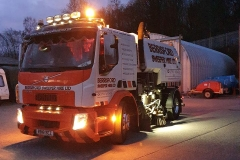 Berrisford Sweeper Hire Ltd Volvo road sweeper truck