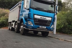 DAF Tipper Truck Rigid 8 wheeler