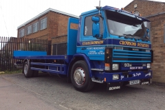 ET-and-H-Crowson-Potato-Merchants-Scania-210-Flatbed-Rigid