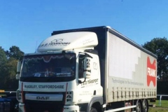 J D Transport DAF CF Rigid Curtainsider
