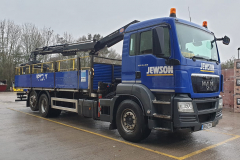 Jewson MAN TGS rigid truck with grab