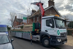 Lakeside Timber Ltd Builders  Merchants Mercedes Dropside Crane Lorry