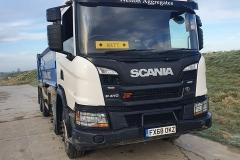 Welton Aggregates Scania P410 Tipper truck featuring Matt