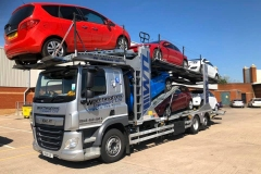 Worthingtons Transport LTD  Auto Logistics DAF Car Transporter