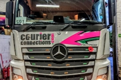 Courier-Connections-Mercedes-Actros-in-workshop