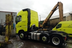 Recyclinglives-Recycling-Partnerships-Volvo-500-Tractor-unit