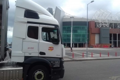 Walkers-Crisps-lorry-unloading-by-football-stadium