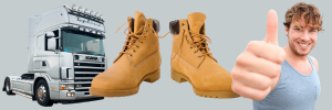 Best Trucking Boots for Truck Drivers