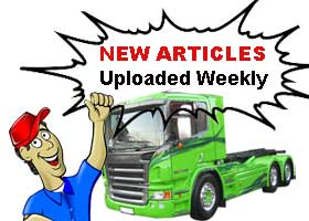 Shortage of HGV Drivers forcast article British trucking