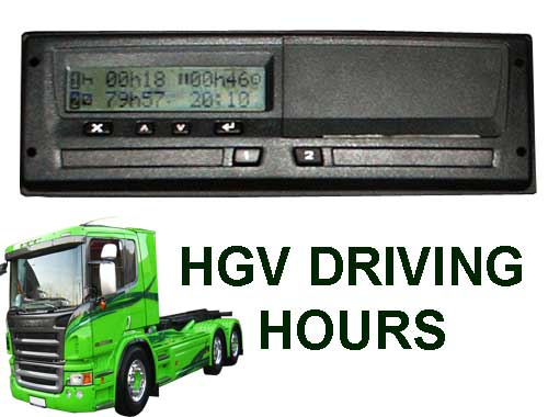 Truck driving hours