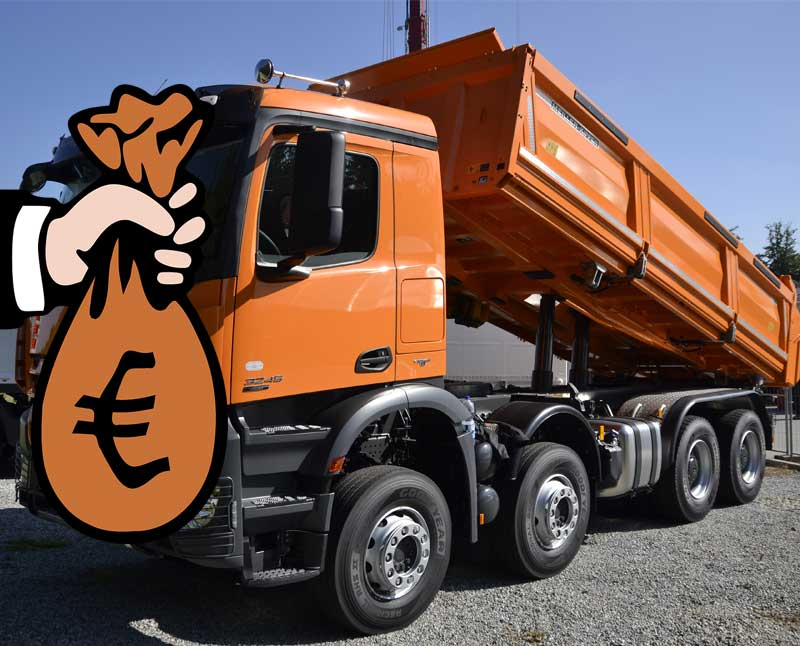 The highest paid truck drivers British trucking