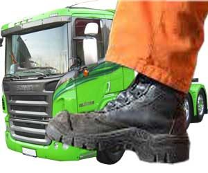 trucking boots for truck drivers