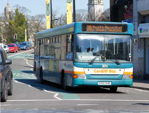 Trucks could use Bus Lanes in Wales