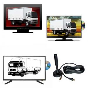 Truck tv televisions for trucks
