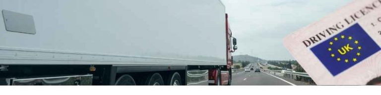 HGV licence requirements UK