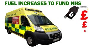 Fuel Duty rise to fund NHS British Trucking Article