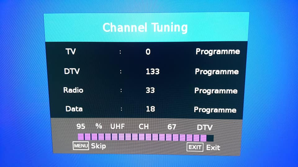 truck tv poor signal booster result