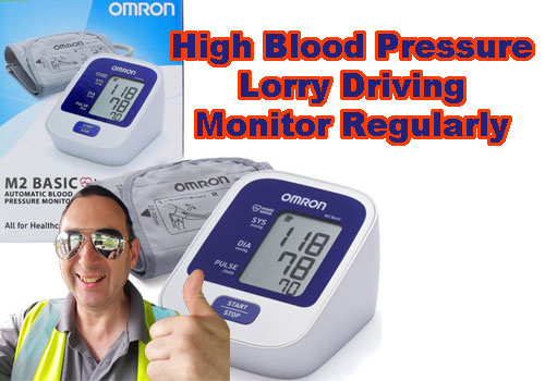 High Blood Pressure Risk Lorry driving
