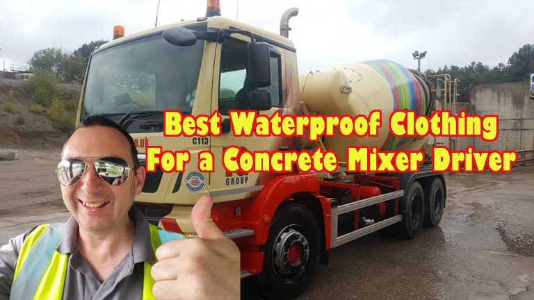 Truck Driving Best waterproof Clothing to keep you dry and warm