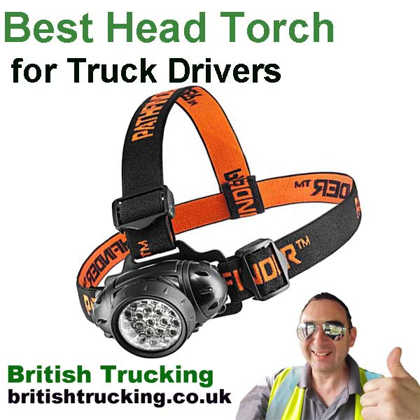 Best head torch for truck drivers British Trucking