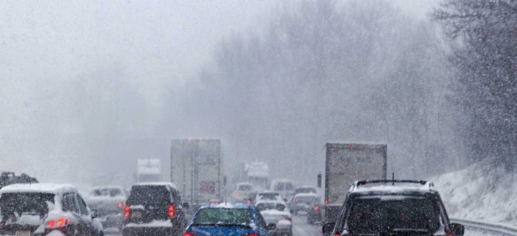 Truck drivers prepare for winter driving
