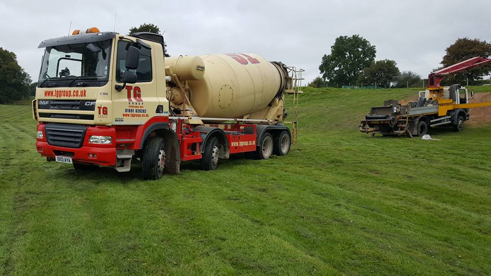 Tudor Griffiths Group DAF CF Concrete Mixer