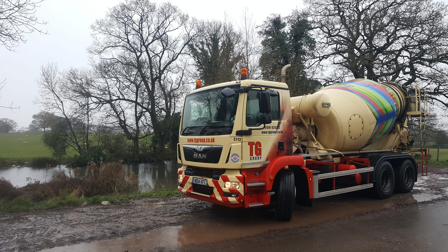 Tudor Griffiths Group MAN Concrete Mixer