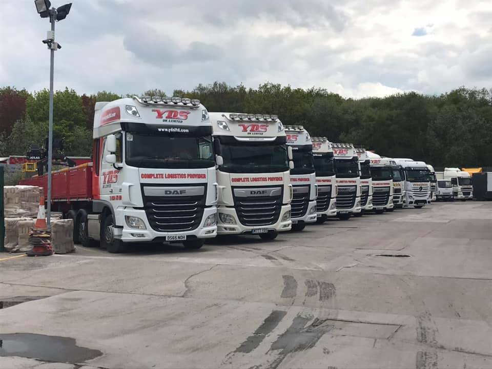 YDS UK Limited Fleet of Trucks
