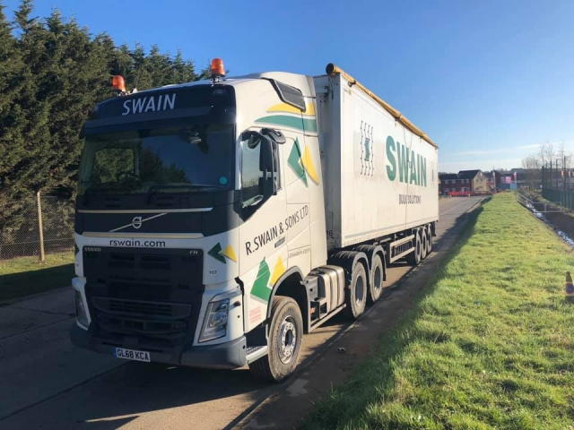 R Swain and Sons Ltd Volvo FH