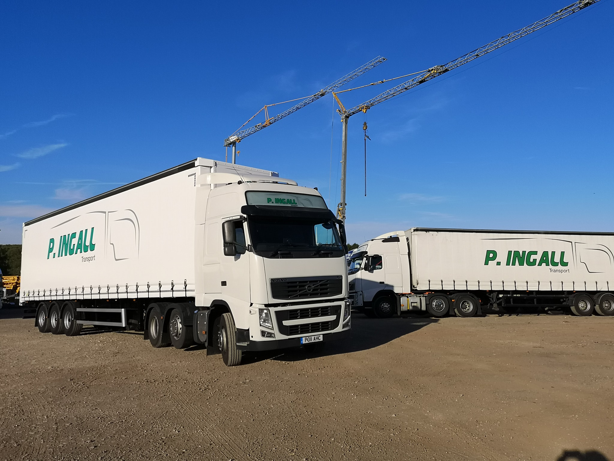 P.Ingall Transport Volvo Curtainsider
