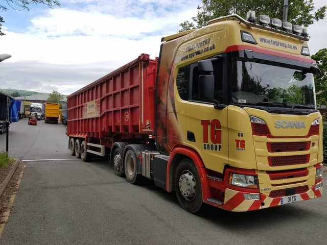 Tudor Griffiths Group Scania R500