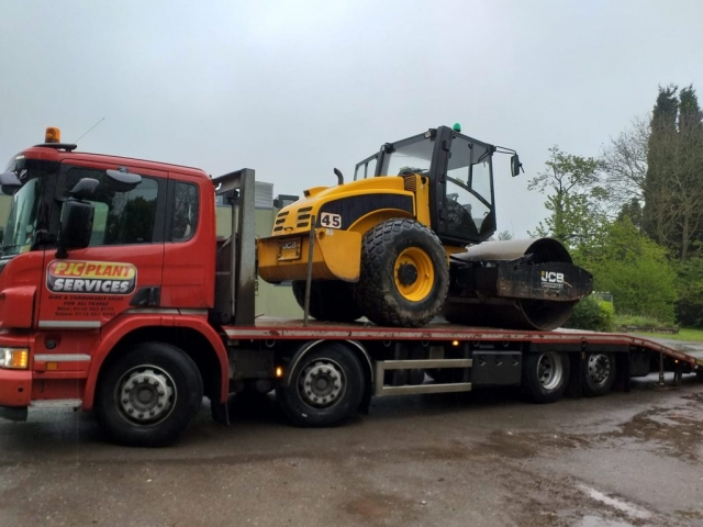 PJC Plant Services Scania Loaded