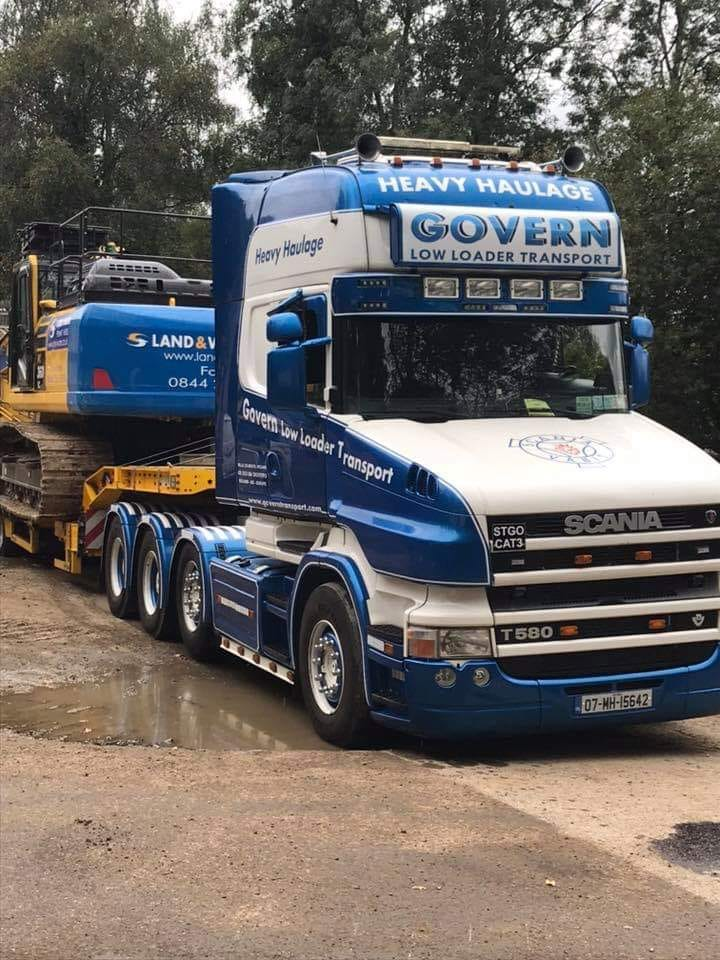 Govern Heavy Haulage Scania Low Loader