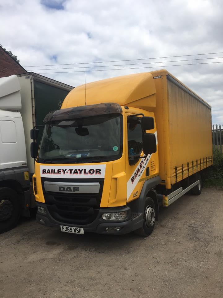 Bailey-Taylor Haulage Ltd DAF LF Rigid Curtainsider