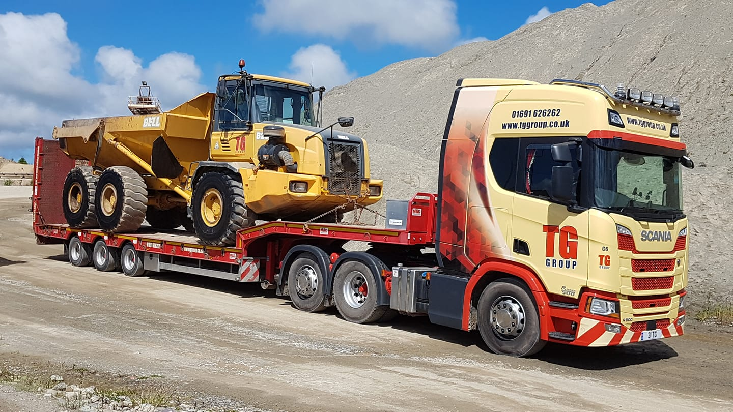 Tudor Griffiths Group Scania Low Loader