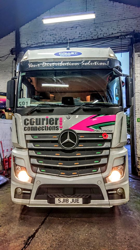 Courier Connections Mercedes Actros